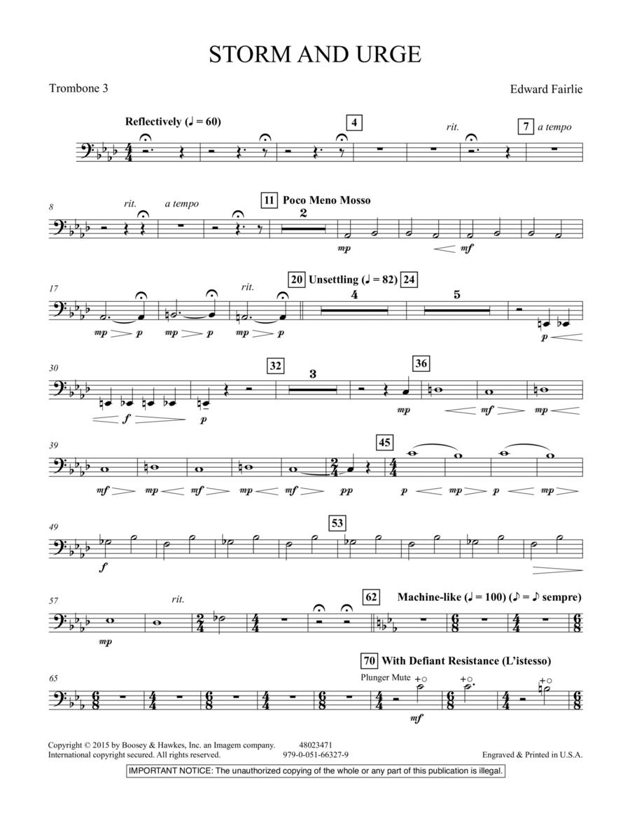 Storm and Urge - Trombone 3