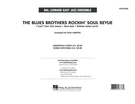 The Blues Brothers Rockin' Soul Revue - Conductor Score (Full Score)