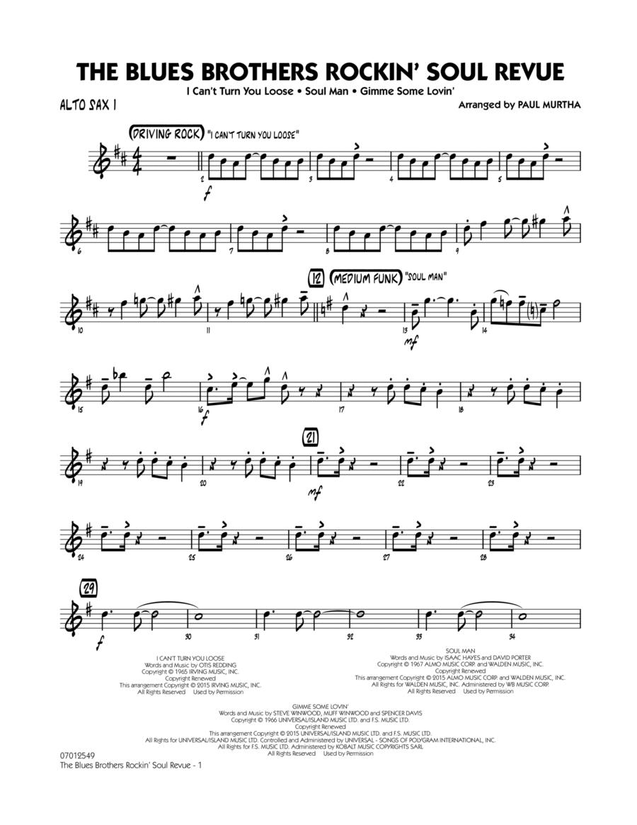 The Blues Brothers Rockin' Soul Revue - Alto Sax 1