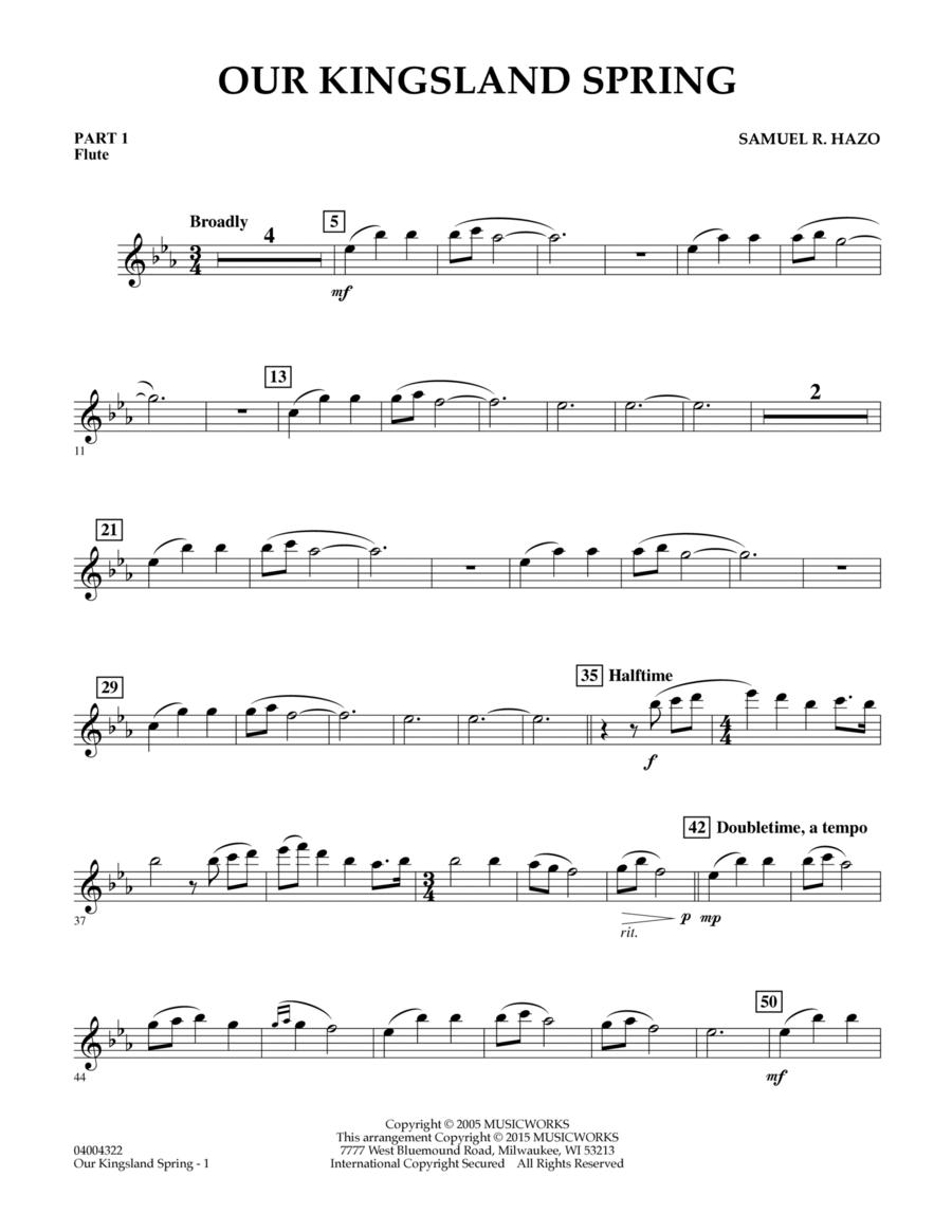 Our Kingsland Spring - Pt.1 - Flute