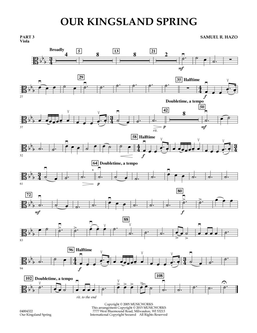 Our Kingsland Spring - Pt.3 - Viola