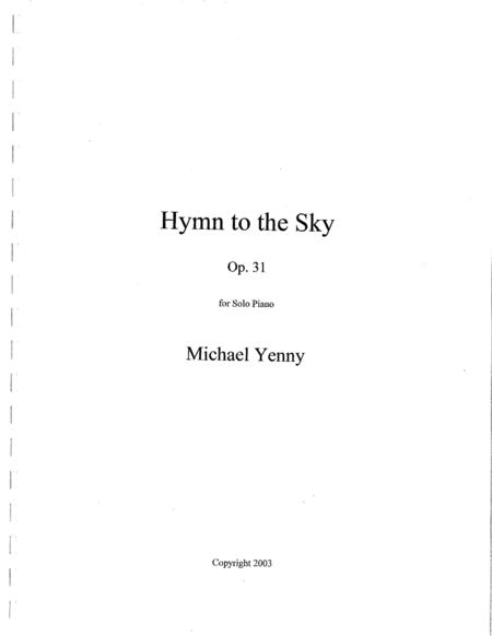 Hymn to the Sky, op. 31