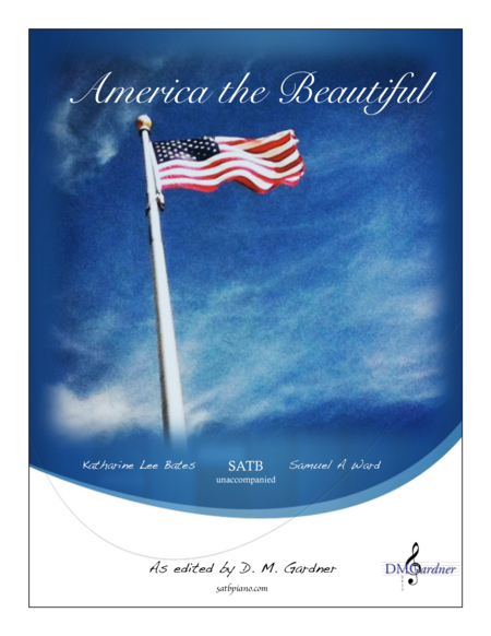 America the Beautiful (SATB unaccompanied)