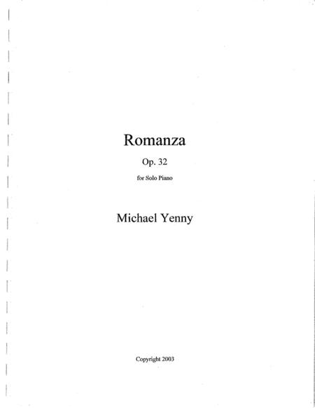 Romanza, op. 32