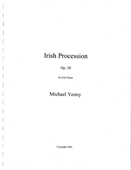 Irish Procession, op. 30