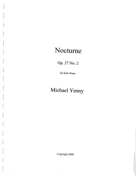 Nocturne, op. 27 no. 2