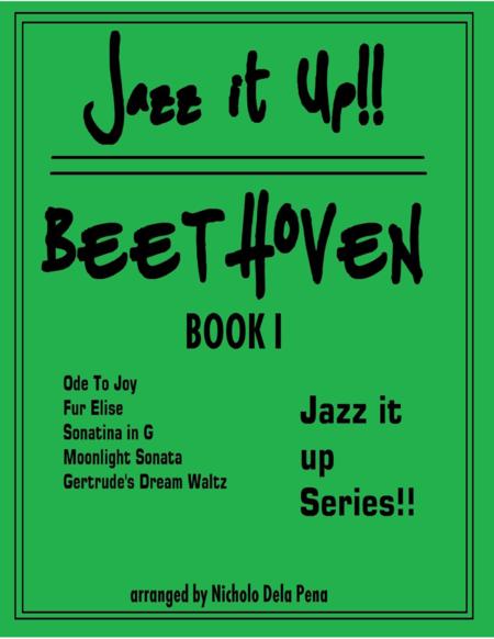 Jazz it Up series Beethoven Best Jazz arrangements for Piano