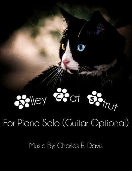 Alley Cat Strut - Piano Solo (Guitar Optional)