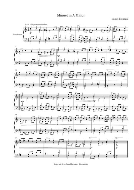 Minuet No. 2