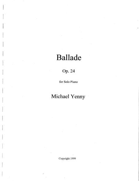 Ballade, op. 24