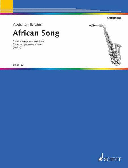african song sheet music by abdullah ibrahim