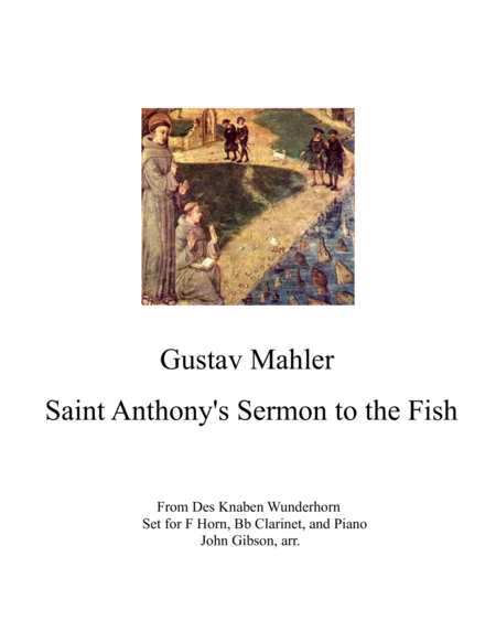 Sermon to the Fish for Horn, Clarinet and Piano