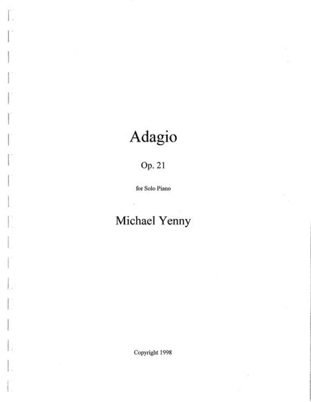 Adagio, op. 21