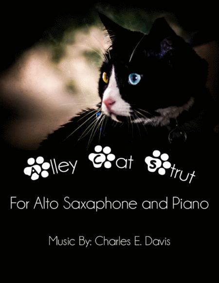 Alley Cat Strut - Alto Sax and Piano