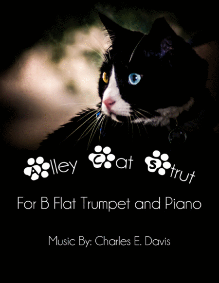 Alley Cat Strut - B Flat Trumpet and Piano