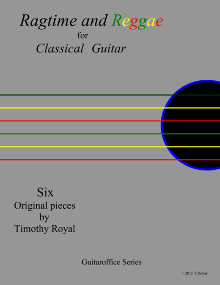 Ragtime and Reggae for Classical Guitar