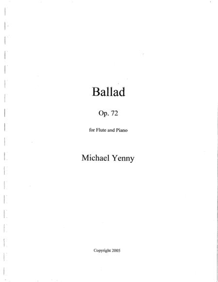 Ballad, op. 72