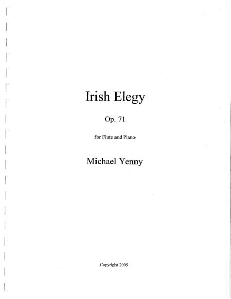 Irish Elegy, op. 71