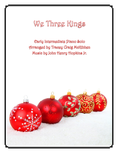 We Three Kings (Piano Solo)