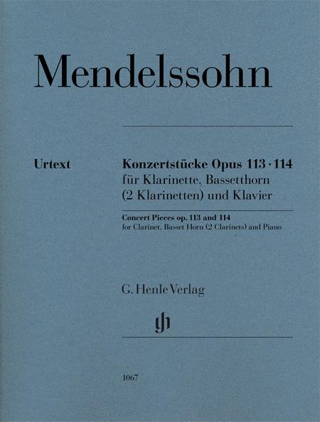 Concert Pieces Op. 113 and 114