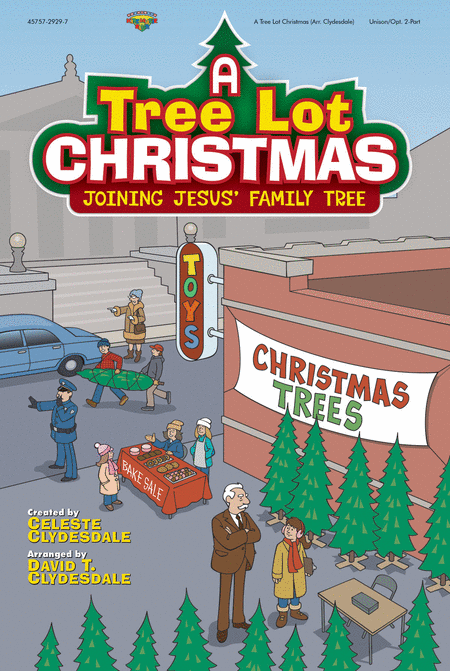 A Tree Lot Christmas (choral book)