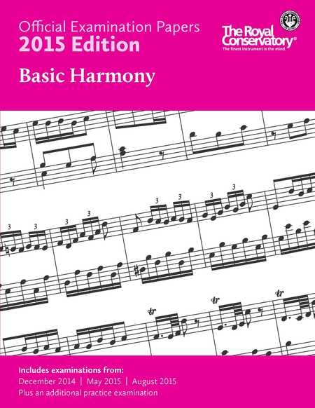 Official Examination Papers: Basic Harmony