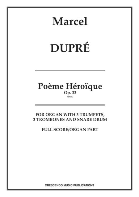 Poeme Heroique, Op. 33