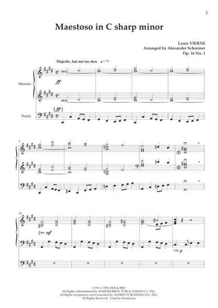 Maestoso in C sharp minor, Op. 16/1