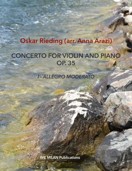 O. Rieding (arr. Anna Arazi) Concerto for Violin and Piano in B Minor Op. 35 FIRST MOVEMENT