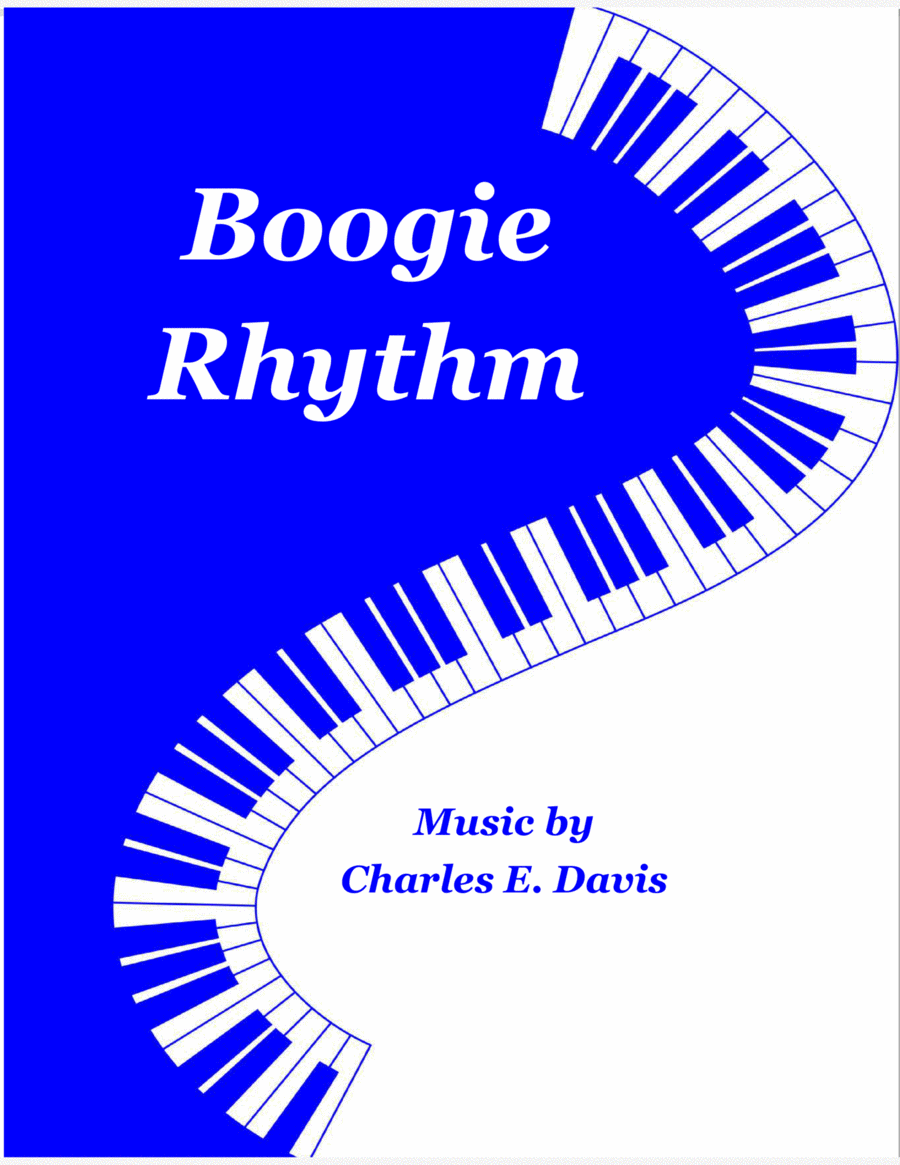 Boogie Rhythm - Piano Solo (Guitar Optional)