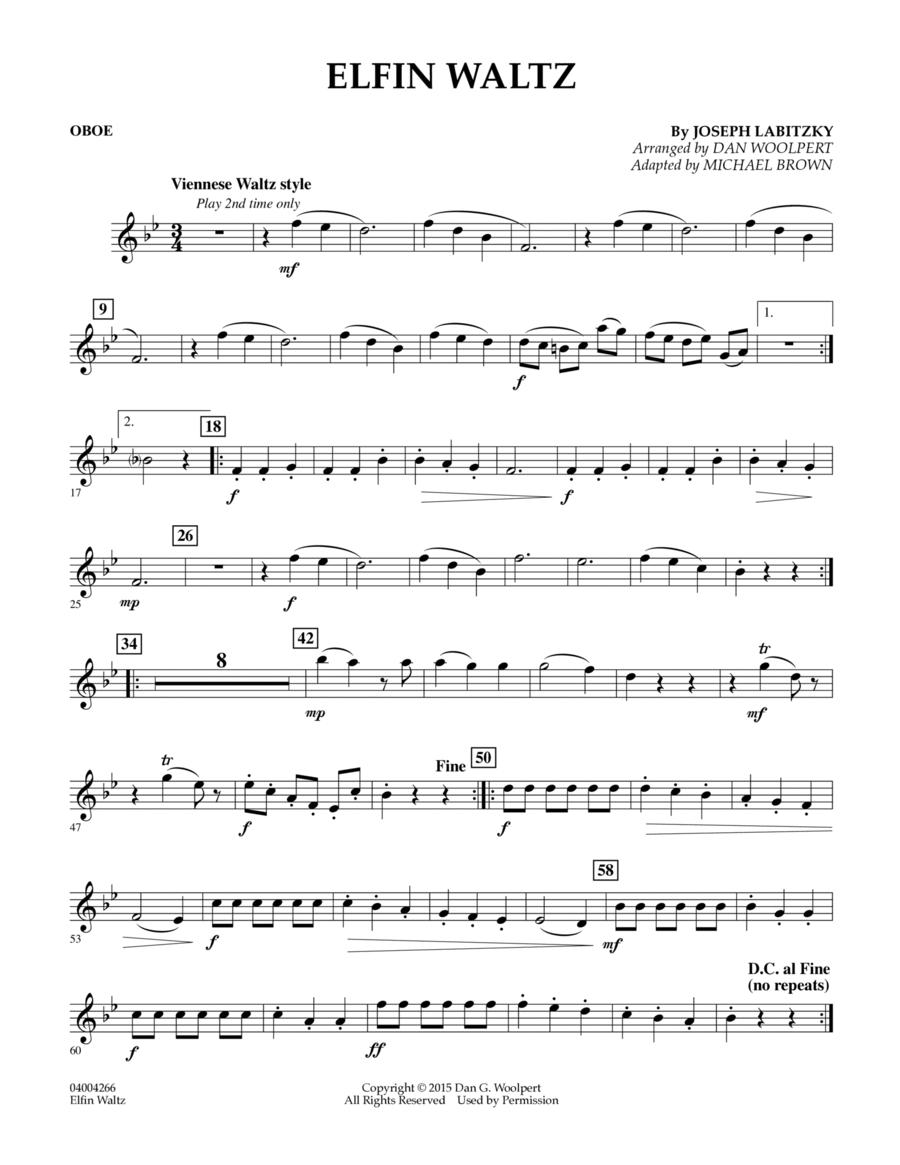 Elfin Waltz - Oboe