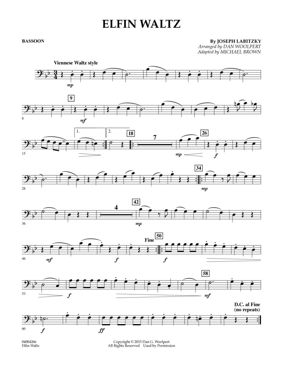 Elfin Waltz - Bassoon