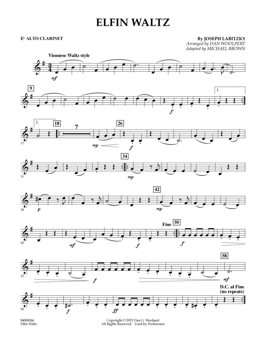 Elfin Waltz - Eb Alto Clarinet