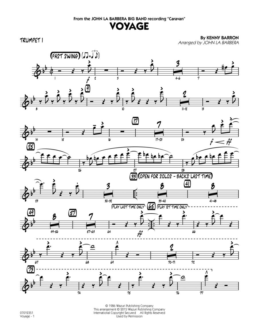 Voyage - Trumpet 1