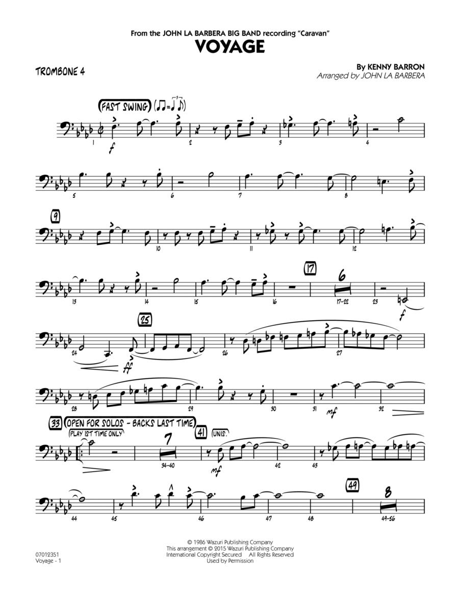 Voyage - Trombone 4