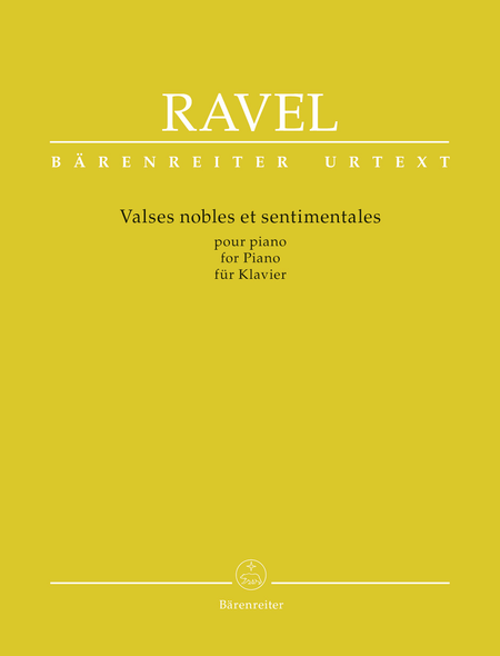 Valses nobles et sentimentales for Piano