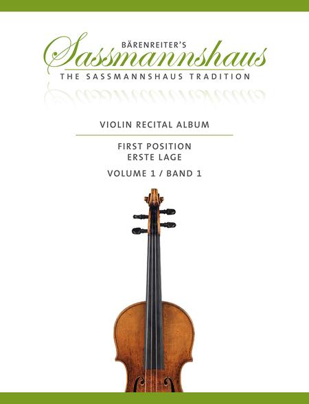 Violin Recital Album First Position, Volume 1