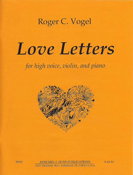 Love Letters Sheet Music By Roger Vogel