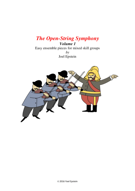 Open-string Symphony: Easy ensemble pieces on open strings (Volume 1)