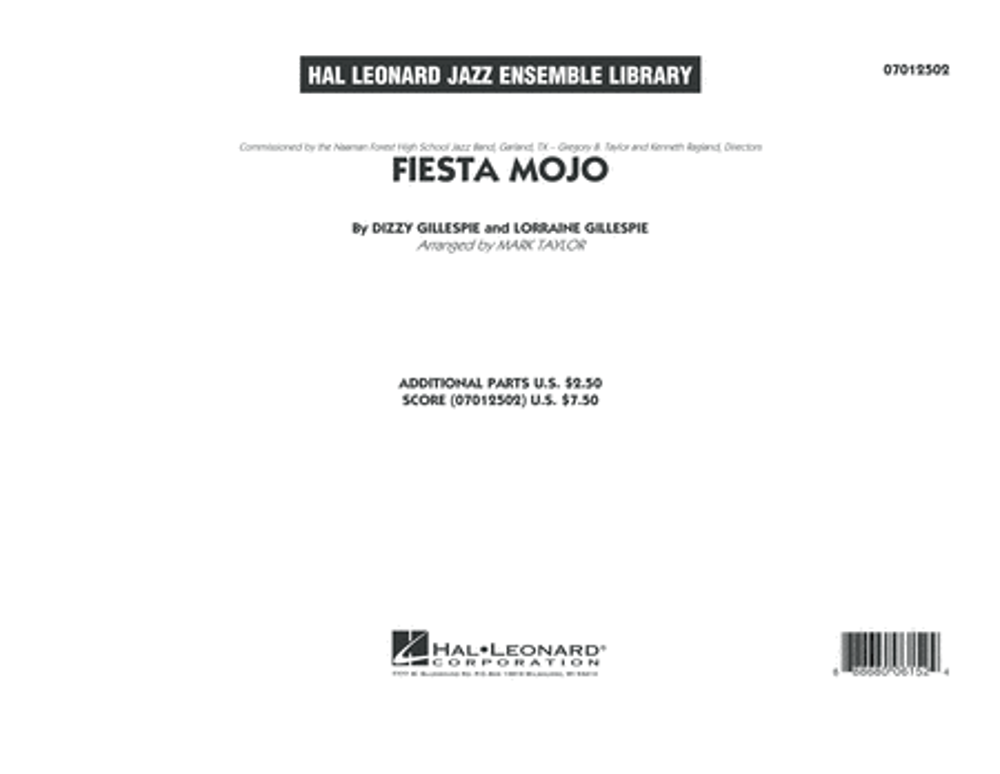 Fiesta Mojo - Conductor Score (Full Score)