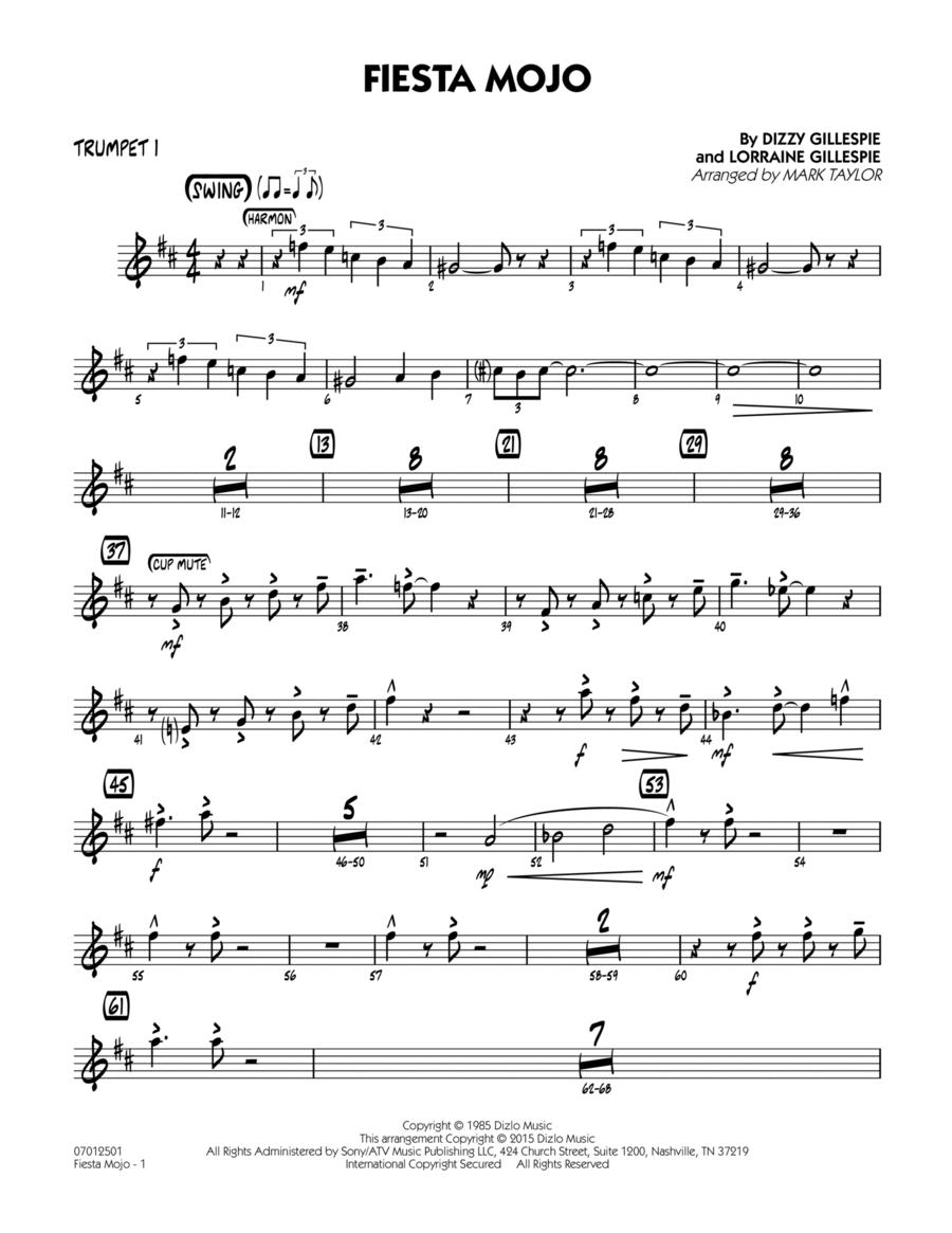 Fiesta Mojo - Trumpet 1