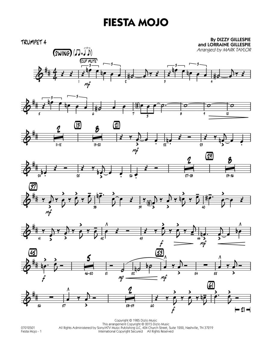 Fiesta Mojo - Trumpet 4