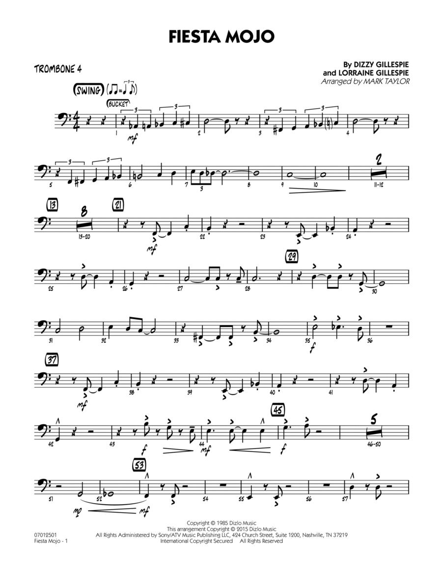 Fiesta Mojo - Trombone 4