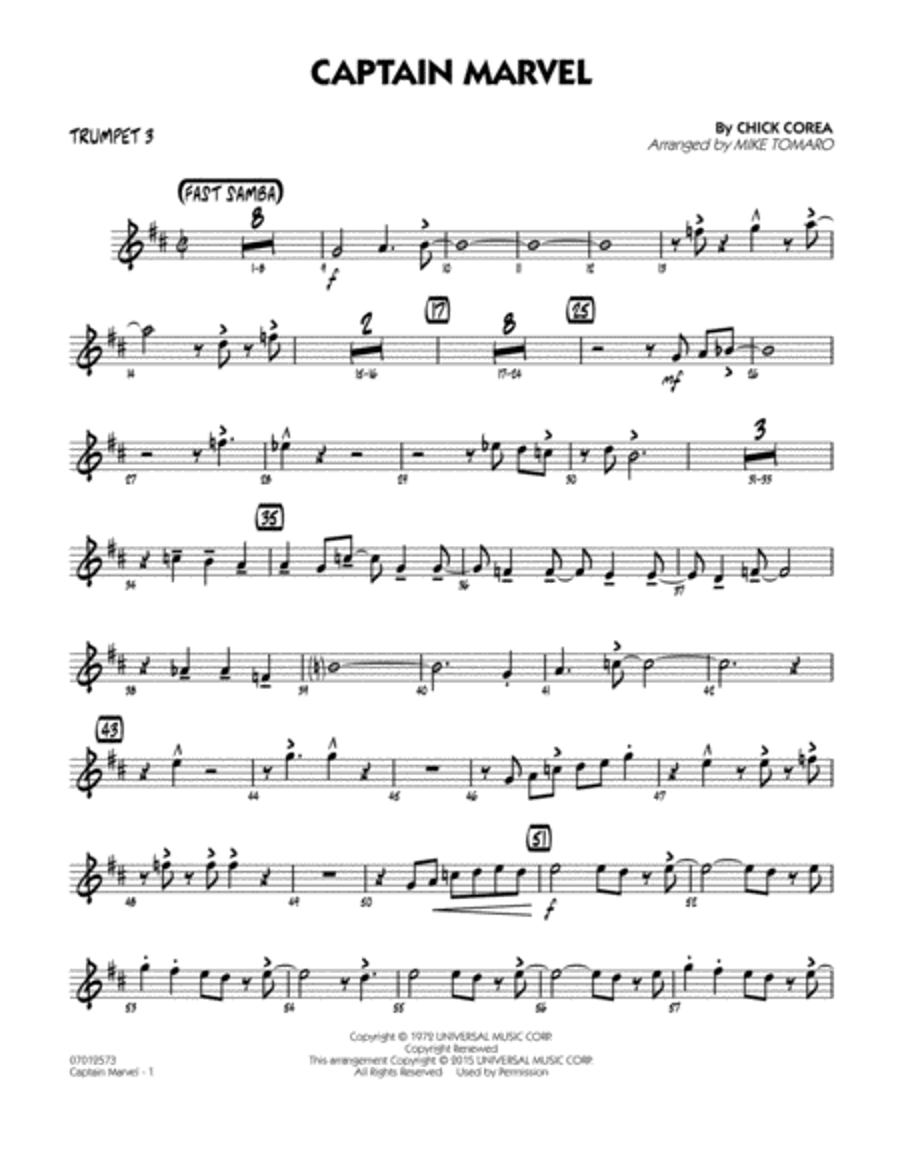 Captain Marvel - Trumpet 3