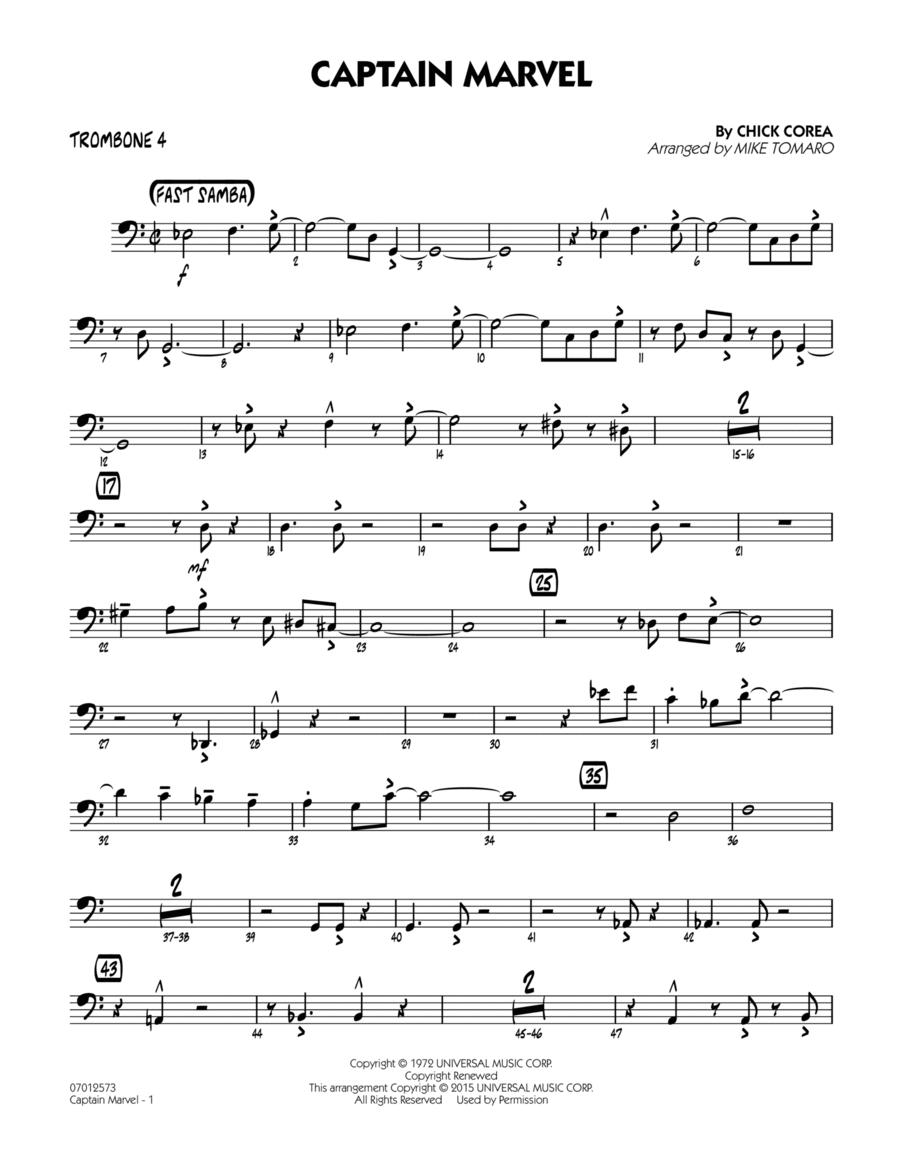 Captain Marvel - Trombone 4