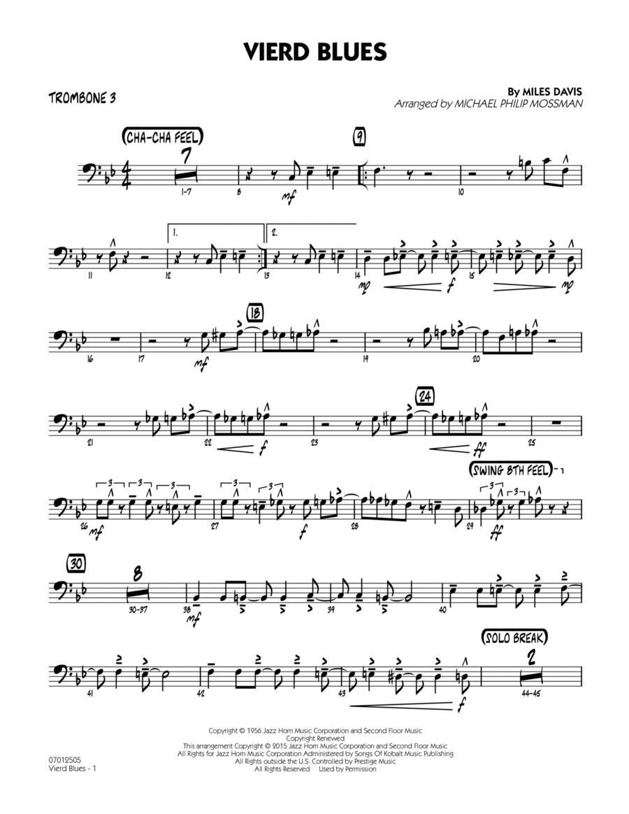 Vierd Blues - Trombone 3