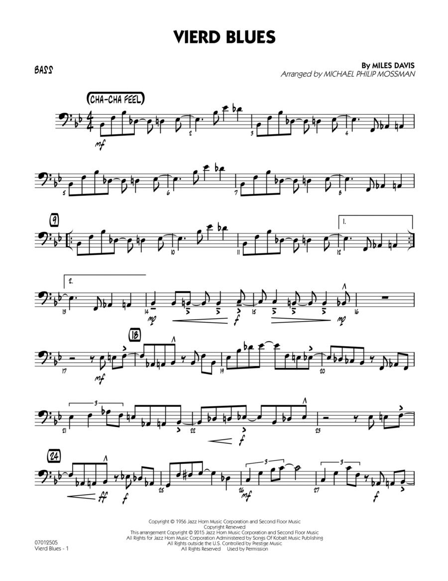Vierd Blues - Bass