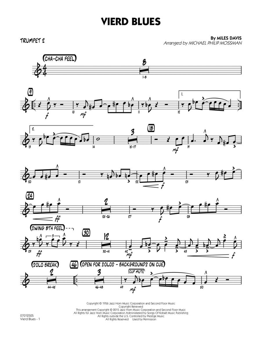 Vierd Blues - Trumpet 2