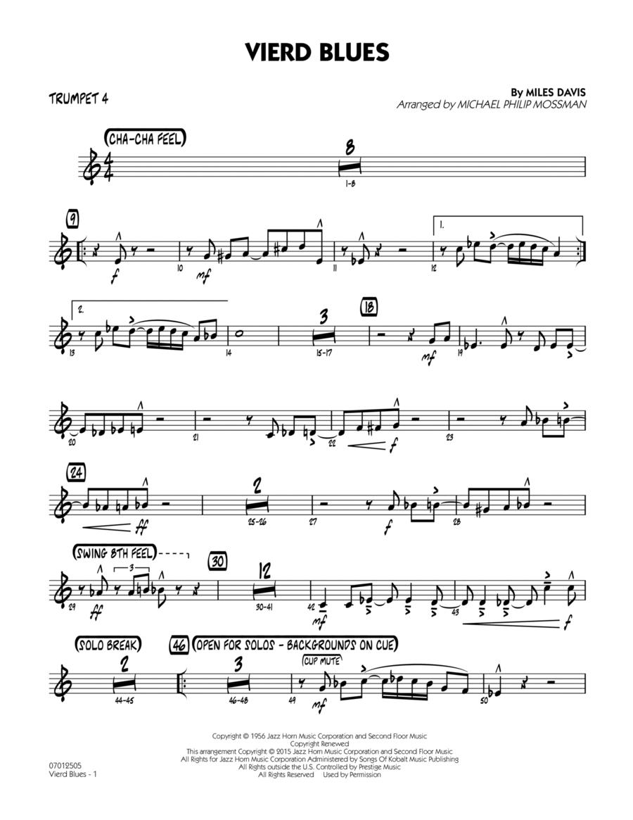 Vierd Blues - Trumpet 4