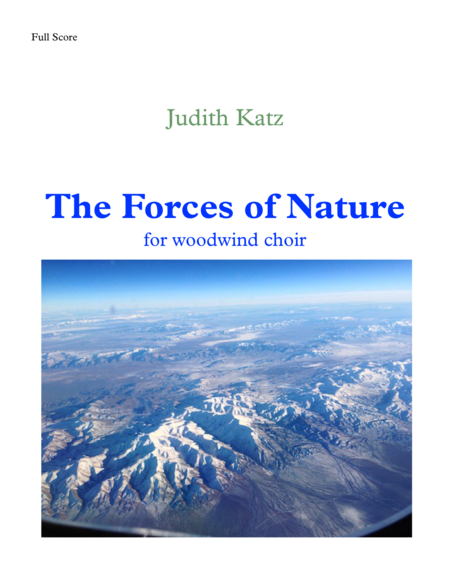 The Forces of Nature - for woodwind choir